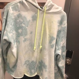 Wild Fable Tye Dye Cropped Sweatshirt